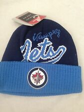 Winnipeg Jets NEW Youth Cuffed Knit Winter Hat . NHL Hockey Warm NWT Fan Cap Kid