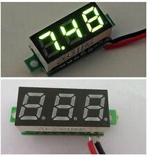 0.28 Inch DC 2.5V-30V Gree LED Mini Digital Voltmeter Voltage Tester Meter CIT