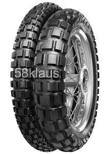 Satz Continental TKC 80 4.10-18 66P TT + 2.75-21 52S TT Set Enduro Reifen Paar