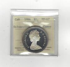 **1984**, ICCS Graded Canadian Dollar **PF-67 Silver; UHC**