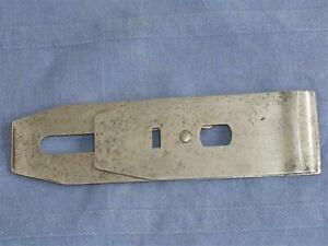 """VINTAGE TOOL STANLEY SWEET HEART DOUBLE PLANE IRON 2"""" WIDE MADE IN CANADA."""