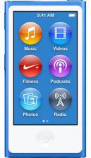 Apple IPod Nano 7th Generation Blue (16 GB) MP3 Player - 90 Days Warranty