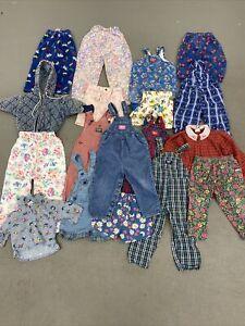 VTG 80s 90s CHILDRENS CLOTHING OSH KOSH B'GOSH LOT OF 18 BABY B'GOSH VESTBAK USA