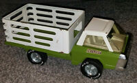 Vintage 1970's Nylint 400 Pressed Steel Metal Green Farm Truck / Flat Bed