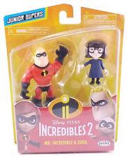 Disney Pixar Incredibles 2 Junior Supers Mr Incredible & Edna