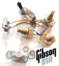 New KIT câblé GIBSON FLYING V - wiring kit - switch- 3 pots - guitare Flying V