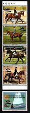 Olympic Paraguay 1989 strip of stamps Mi#4395-99 MNH CV=9.5€