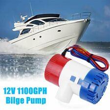 Pompa di Sentina Da Immersione 12V 1100GPH Pompe Barca Gommone Camper Bilge Pump