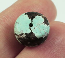 6.3Ct Natural High-Hardness Turquoise Undrilled Bead YKMz659