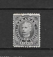 1895 Queen Victoria  SG29  4c. Black , Sir Charles Brooke Mint Hinged SARAWAK