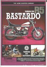2005 Magazine Advertisement for the - Yamaha 350 R5 Bastardo - Acme Chopper Co
