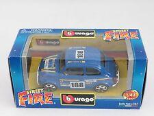 [PH3-6] BBURAGO BURAGO 1/43 STREET FIRE FIAT 500 SPORT BLU N.188 NIB