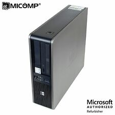 HP DC 7800 SFF Desktop PC Core 2 Duo 2.80Ghz 4GB 250GB DVD Win 10 Home 64 WIFI