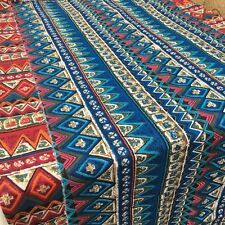 Bohemian Tribal Ethnic Vintage Cotton Linen Fabric Upholstery Curtain Blinds Sew