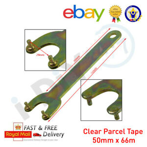 30mm PIN SPANNER Wrench Angle Grinder 2 Pin Key Flange Nut for Bosch Makita