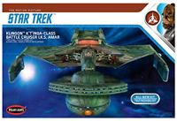Round 2 Klingon Ktinga I.K.S. AMAR 1:350 Scale Model Kit