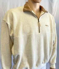 Straight Down Clothing Co., Men's Size M, Long Sleeve Pullover, Collar, 1/4 Zip
