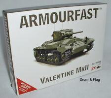 Armourfast 99030. VALENTINE MKII serbatoi di scala 1/72.