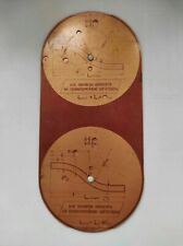 Counting ruler for pipe blanks. Vintage USSR