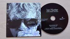IAN HUNTER (MOTT THE HOOPLE) – ''SHRUNKEN HEADS'' – PROMO CD ALBUM. HAND SIGNED