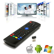 Android TV Box Wireless IR Remote-Control Keyboard Air Mouse 2.4Ghz For PC TV