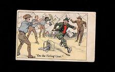 Pre WWI APO Fort Slocum New Rochelle NY Hobo Humor Soldier Mailed 1908 Card 1q
