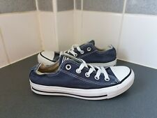 NAVY BLUE CONVERSE ALL STAR Size 3 UK
