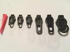 6er (5 + 1) Set ZlideOn Spiral Reißverschluss Reparatur Schwarz TOP ANGEBOT!!!