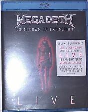 MEGADETH COUNTDOWN TO EXTINCTION LIVE LIMITED EDITION [Blu-Ray+CD]
