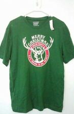"""BRAND NEW! Old Navy 2011 Christmas """"Eat, Drink, & Be Merry"""" Shirt - Size Med -"""