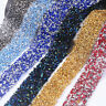 1yd Twinkle Mesh Wrap Roll Crystal Rhinestone Beaded Banding Trim Wedding Decor