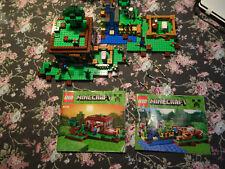 LEGO Minecraft 21114 UND 21115 *** Steve`s Haus *** Steve`s Farm