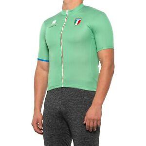 Sportful Men's Team Italia CL Full Zip Cycling Jersey NEW NWT Large L Castelli