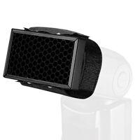 Honey Comb Grid FlashLight Flash Diffuser Softbox Bouncer for Speedlight USR Jf