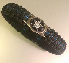 Thin Blue Line *  Paracord Bracelet * VA Deputy Sheriff