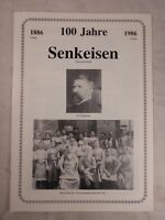 Chronik 100 Jahre Firma Senkeisen Holzwarenfabrik Coburg Holz, 1986, 6 Seiten
