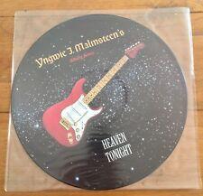 "Yngwie J. Malmsteen's Rising Force – Heaven Tonight  12"" Picture Disc Vinyl"