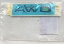 Genuine New KIA AWD CHROME DOOR BADGE Side Emblem 86342D9000