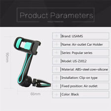 360° GPS Car Holder Air Vent Holder Mount For Mobile Cell Phone iPhone Samsung