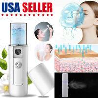 Portable Nano Facial Mister Handy Cool Mist Spray Machine Face Hydration Sprayer