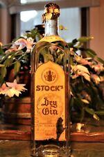 GIN anni 1940 –  SIGILLO REGNO E TENDE STOCK'S DRY GIN PURO