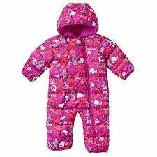 COLUMBIA Baby Girls' 3-6M Frosty Freeze™ Plum Critter Bunting Snowsuit *NWT $100