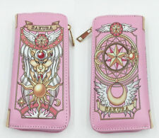 Card Captor Sakura zip pink long wallet cards money purse handbag  anime new
