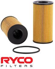 RYCO HIGH FLOW CARTRIDGE OIL FILTER FOR NISSAN NAVARA D23 NP300 YS23DDT 2.3L I4