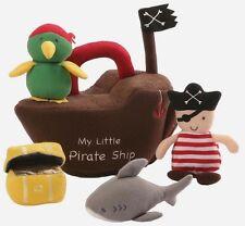 Gund la mia nave pirata Play Set Peluche Giocattolo morbido (4053982) NUOVO