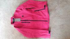 Gleneagles womens red fleece lined waterproof golf jacket medium