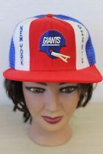 New York Giants NFL Football VTG Baseball Trucker Mesh Cap Hat Snapback