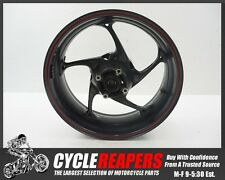 D087 2014 14 15 13-16 Triumph Street Triple 675 R Rear Wheel Rim Tire Straight