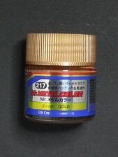 "MR. Hobby Gunze Sangyo METAL COLOR 10 ml   "" 217 GOLD """