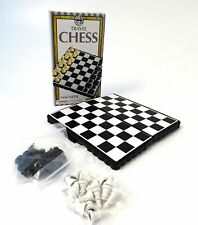 Magnetic Travel Chess Game Board + Pieces Lightweight Pocket Size Strategy Logic